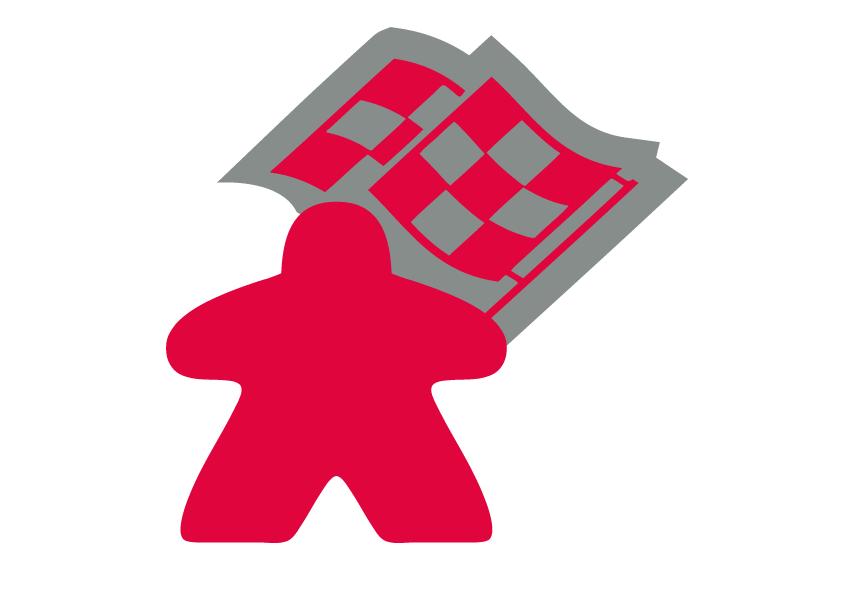 La course aux jeux - Meeple Rouge