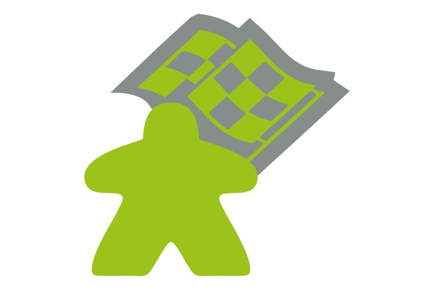 La course aux jeux - Meeple Vert